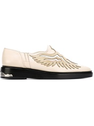 Toga Pulla Western Style Loafers Nude And Neutrals