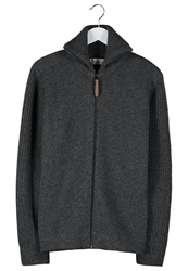 Harris Wilson Luis Cardigan Anthracite Dark Gray
