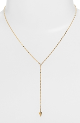 Lana 'Triangle' Diamond Y Necklace Nordstrom Exclusive Yellow Gold