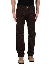 Historic Research Trousers Casual Trousers Men Dark Brown