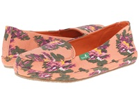 Sanuk Blanche Prints Melon Ikat Floral Women's Slip On Shoes Pink