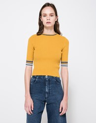 Which We Want Lagos Knit Top Black