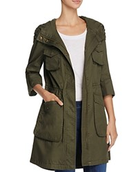 Bcbgeneration Cotton Anorak Jacket Compare At 248 Army Green