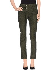 Please Trousers Casual Trousers Women Military Green