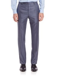 Saks Fifth Avenue Wool And Silk Dress Pants
