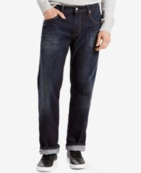 Levi's Men's 569 Loose Straight Fit Jeans Dark Fence