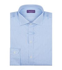 Ralph Lauren Wide Stripe Formal Shirt Male Blue