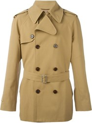 Maison Martin Margiela Maison Margiela Double Breasted Trench Coat Nude And Neutrals