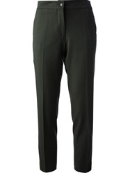 Etro Cropped Trouser Green