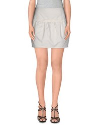 Naf Naf Skirts Mini Skirts Women White