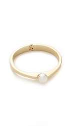 Adia Kibur Imitation Pearl Bangle Bracelet Gold Pearl