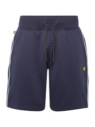 Lyle And Scott Sports Mears Sweat Shorts Navy