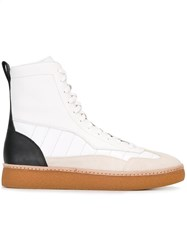 Alexander Wang 'Eden' Hi Top Sneakers White