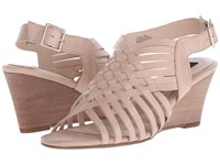 Steven Livvey Nude Leather Women's Wedge Shoes Pink