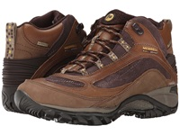 Merrell Siren Waterproof Mid Leather Brown Women's Lace Up Boots