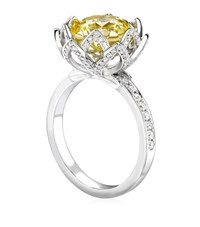 Theo Fennell Water Lily Ring Female