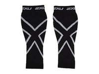 2Xu Compression Calf Sleeve Black Black Athletic Sports Equipment