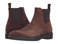 Aquatalia By Marvin K Tristan Brown Suede Men's Shoes