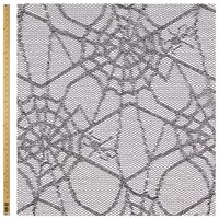 John Lewis Spider Web Net Fabric Silver