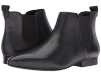 Nine West Holdon Black Black2 Leather Women's Slip On Dress Shoes
