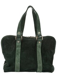Guidi Double Handles Tote Green