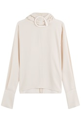 J.W.Anderson J.W. Anderson Blouse With High Neck Beige