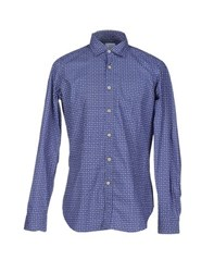 Agho Shirts Shirts Men Blue