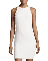 Bishop Young Kate Side Cutout Sheath Dress White