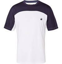 Boast Panelled Jersey Tennis T Shirt White