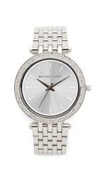 Michael Kors Darci Glitz Watch Silver