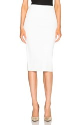 Dion Lee Density Knit Skirt In White