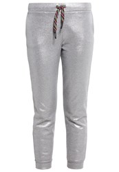 Iceberg Tracksuit Bottoms Silver