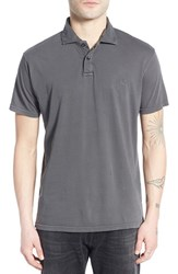Men's Quiksilver 'Sun Cruise' Jersey Polo Dark Shadow