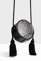 Hillier Bartley Black Tassel Mini Bag