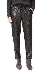 Splendid Sequin Pants Black