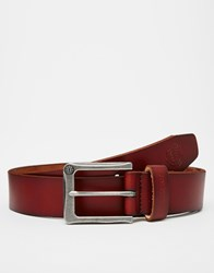 Element Poloma Leather Belt Brown