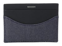 Skagen Torben Card Case Ink Credit Card Wallet Navy
