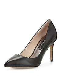 Steven By Steve Madden Sharazz Patent Pointed Toe Pump Black