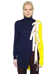 Jacquemus Asymmetrical Turtleneck Sweater W Ties