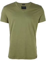 Marc Jacobs V Neck T Shirt Green