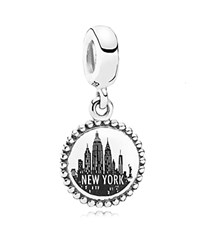 Pandora Design Pandora Dangle Charm Sterling Silver Unforgettable Moment New York City Moments Collection