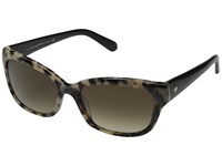 Kate Spade Johanna S Havana Black Brown Gradient Fashion Sunglasses