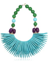 Katerina Psoma Nuwa Fringed Beaded Necklace