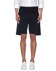 Messagerie Trousers Bermuda Shorts Men Dark Blue
