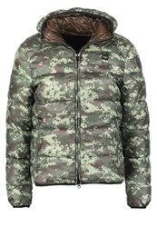Blauer Down Jacket Fantasia Khaki
