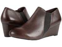 Vionic Elevated Stanton Wedge Java Women's Wedge Shoes Brown
