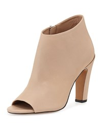Vince Sierra 2 Leather Peep Toe Bootie Nude Men's Size 41.0B 11.0B
