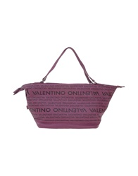 Mario Valentino Handbags Purple