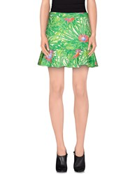 Jo No Fui Skirts Mini Skirts Women Green