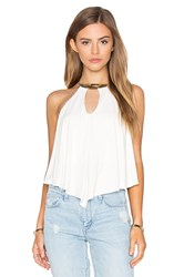 Sky Apalonia Top White